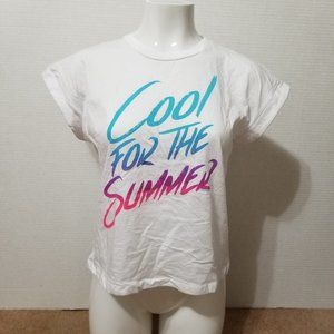 Demi Lovato shirt Small Cool For The Summer lyric
